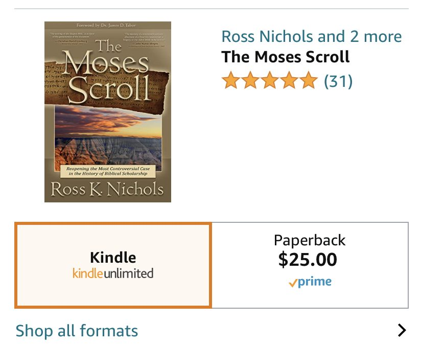The Moses Scroll Goes Digital