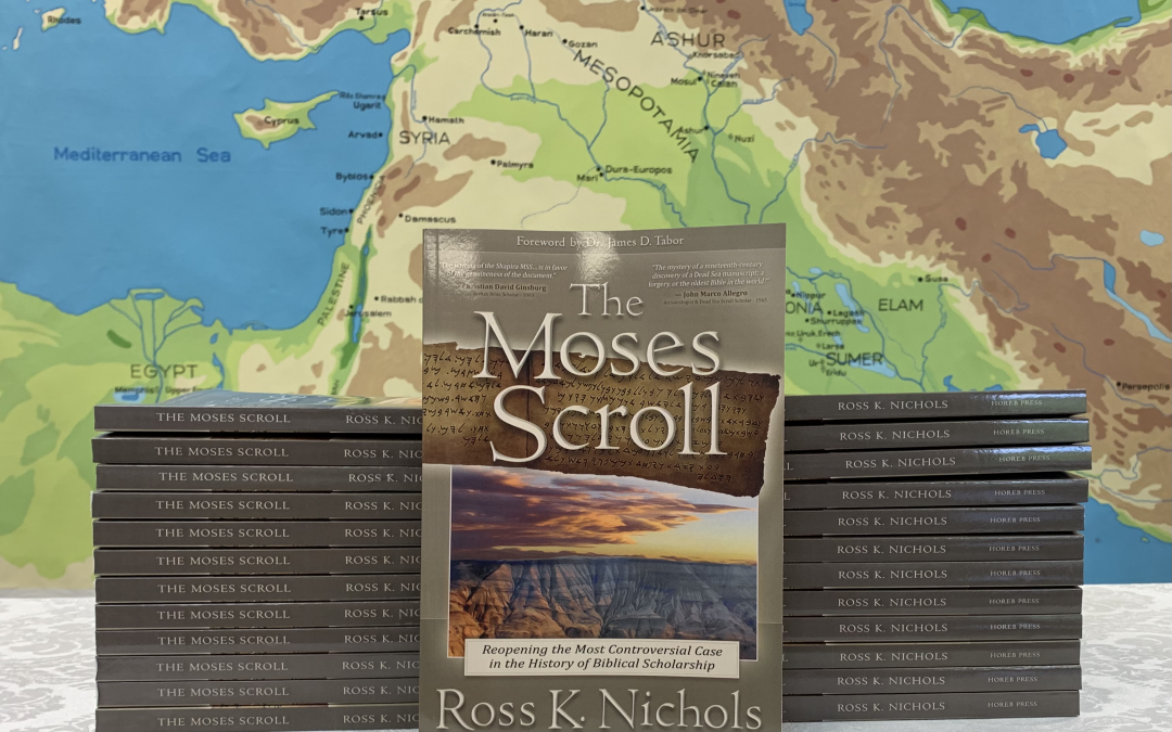 The Moses Scroll – Autographed Copies